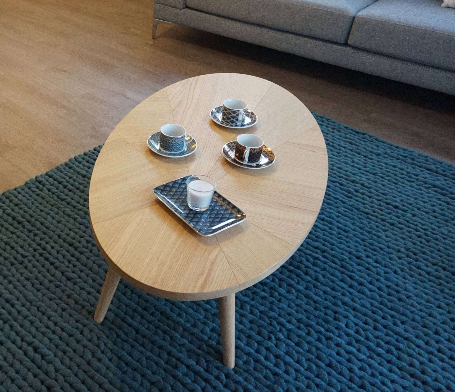 table basse - kiosque deco - lydie pineau - appartement témoin