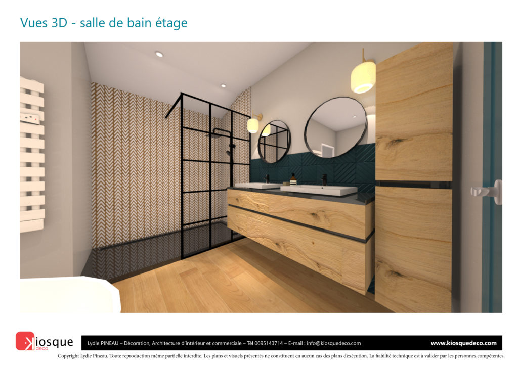 CONCEPTION SALLE DE BAIN 3D PAR LYDIE PINEAU KIOSQUE DECO DECORATION ARCHITECTURE INTERIEUR NANTESATIF MAROT - BY-KIOSQUEDECO-30-06-202030-SANS NOM MAROT