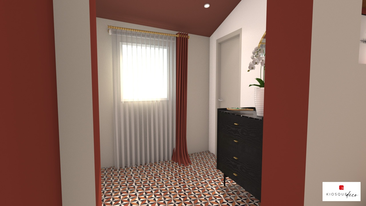 vue 3d AGENCEMENT DECORATION RENOVATION MAISON NANTES SAINT SEBASTIEN SUR LOIRE